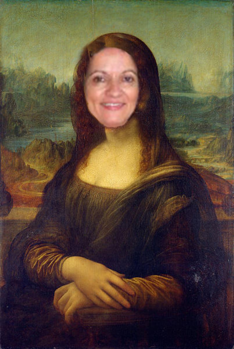 Linda Bilyeu (Sunshine625) as Mona Lisa