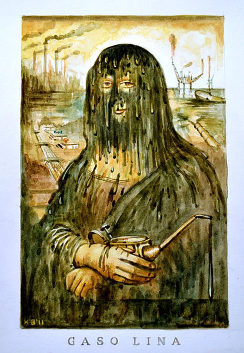 Teufelbeutel's watercolor Gaso Lina (October 23, 2011)