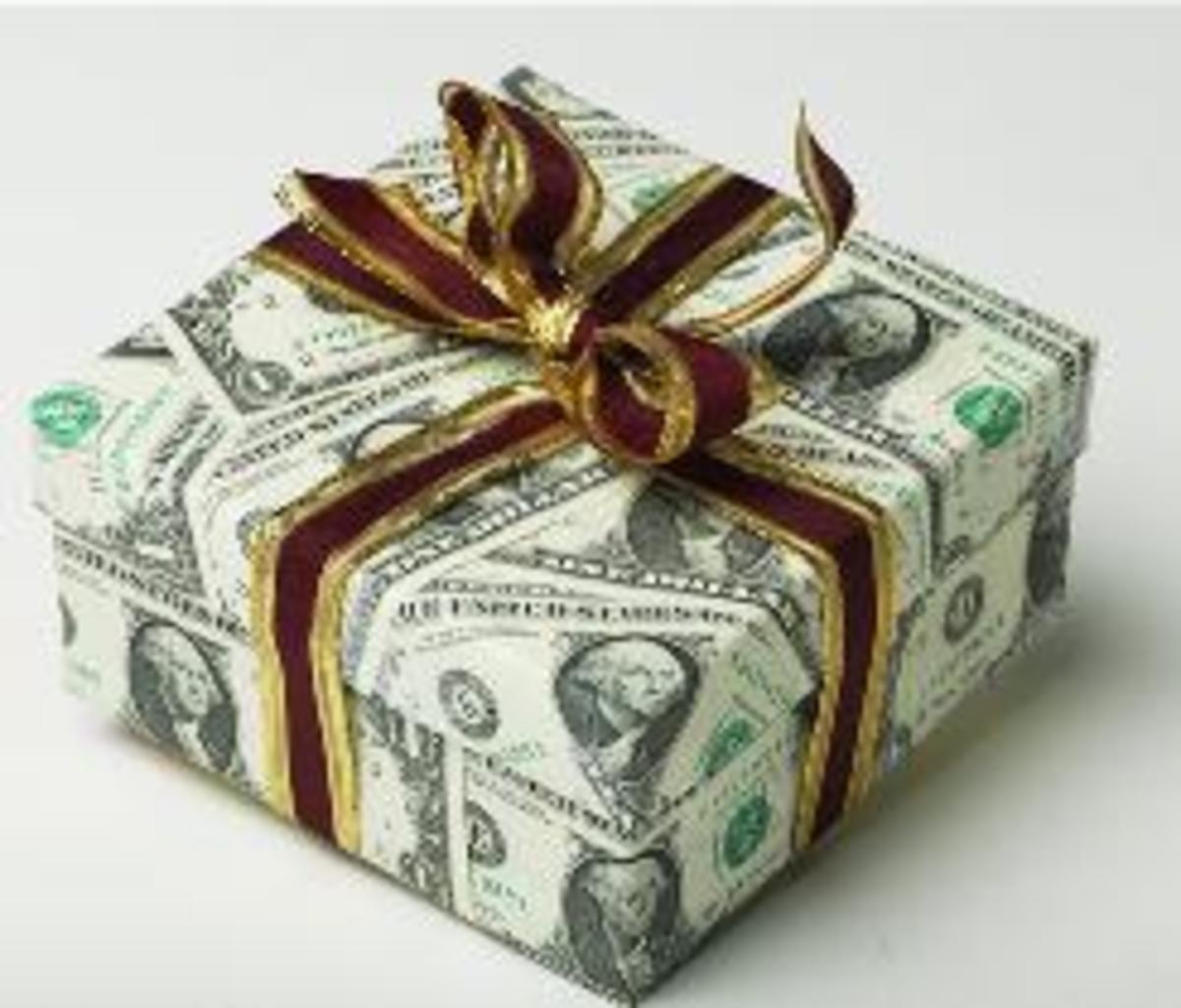 Appropriate Wedding Gift Dollar Amount : Money as a Gift: Appropriate Amounts for Birthdays