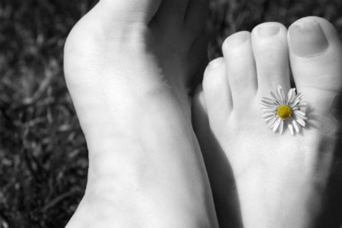 Can feet be pretty?