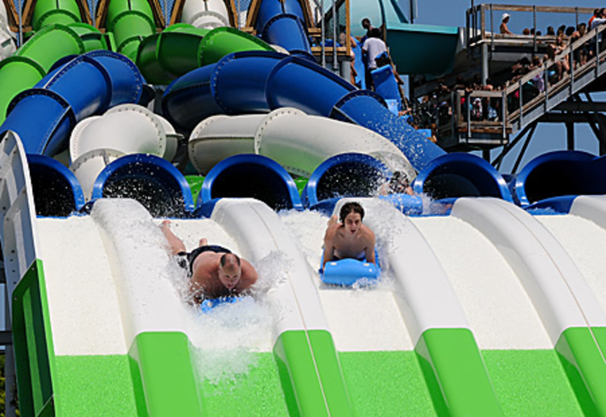 Rapids water park in West palm beach, Florida