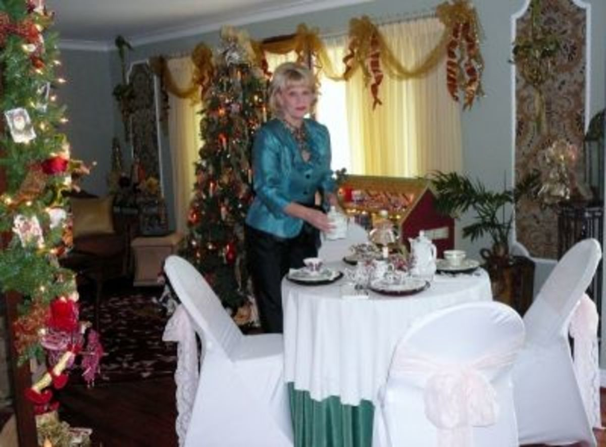 Welcome To My Christmas Tea Party !