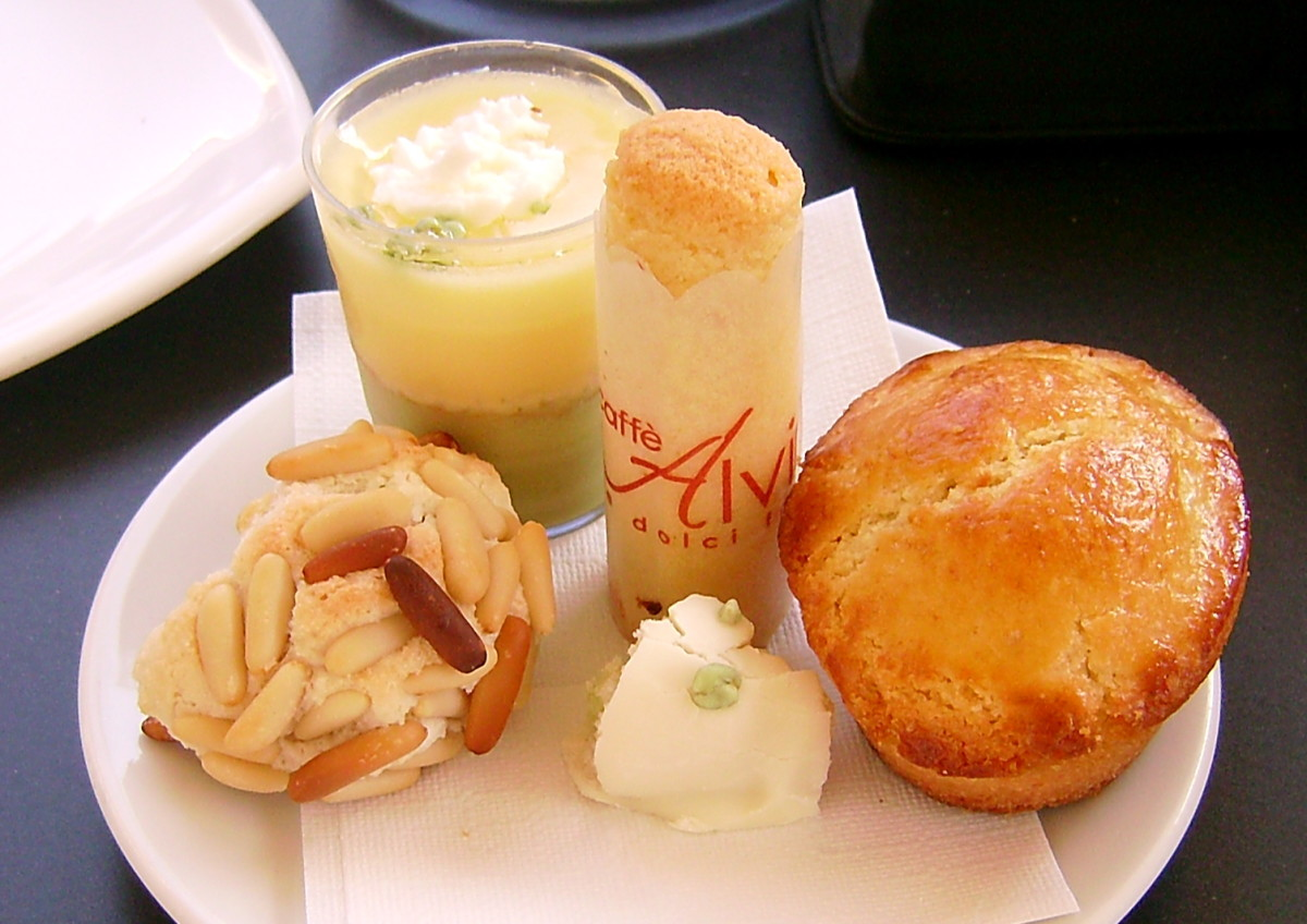 deserts and pastries are a must to sample.