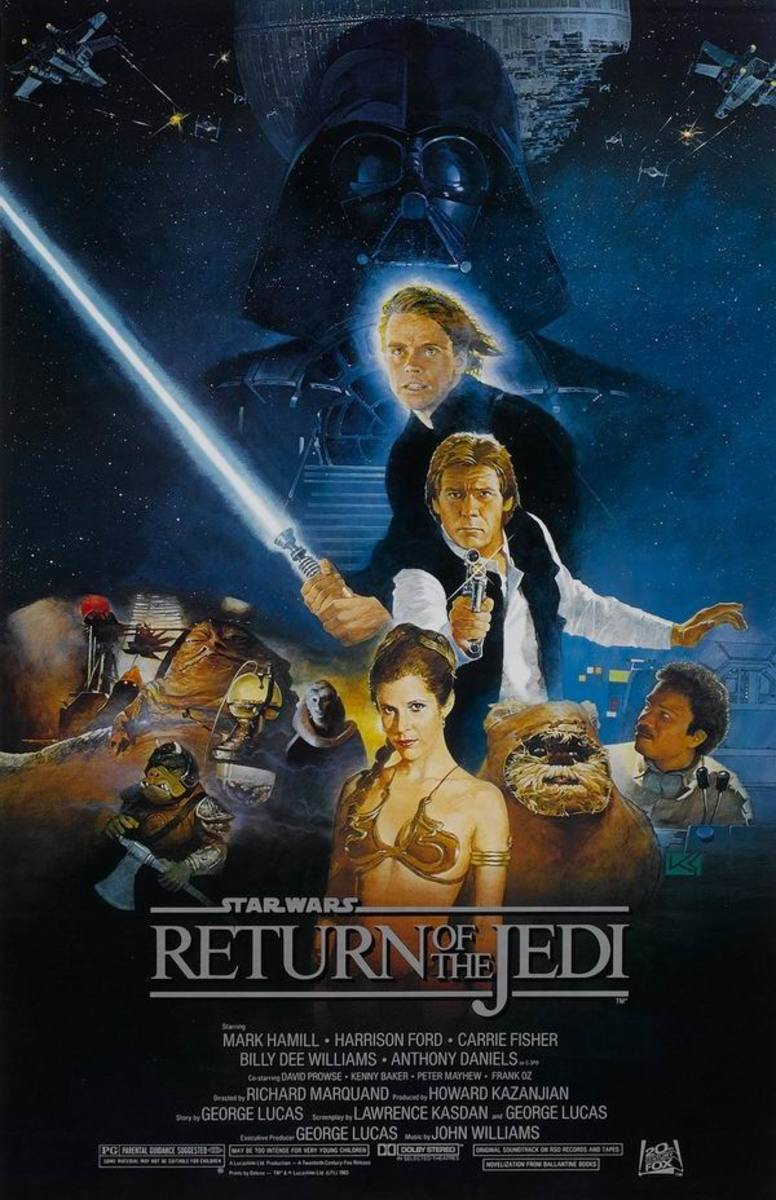 Star Wars VI Return of the Jedi (1983) - Illustrated Reference