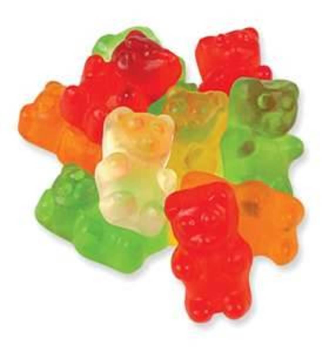 Science Project: Grow a Gummy Bear