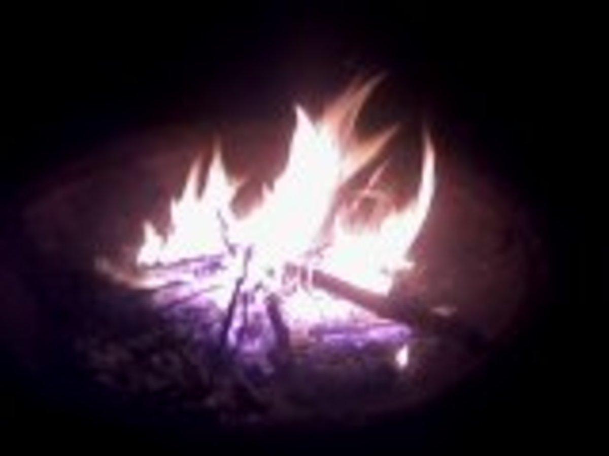 Campfires help families bond!