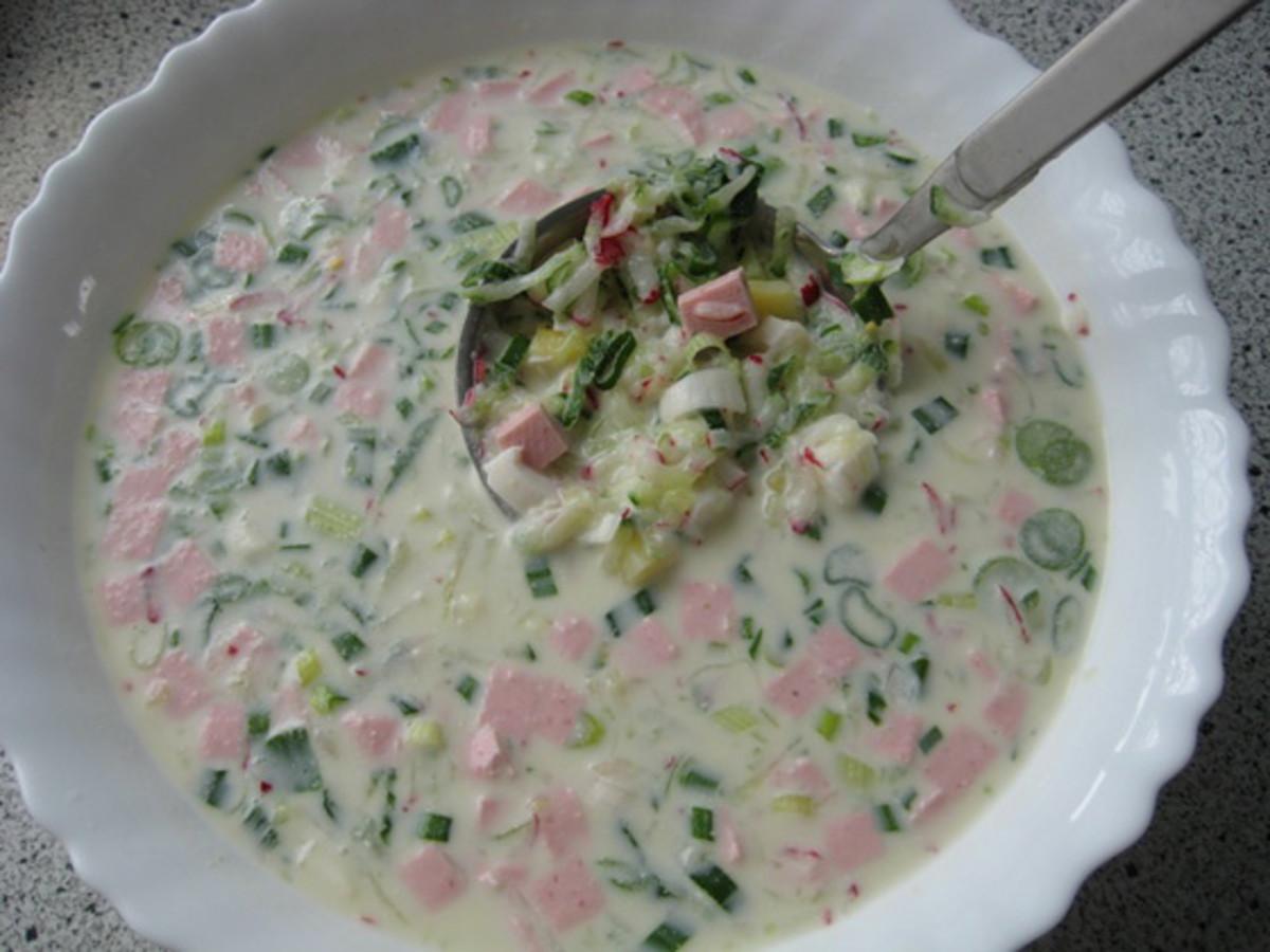 Okroshka Recipe: Russian Cold Soup Recipe