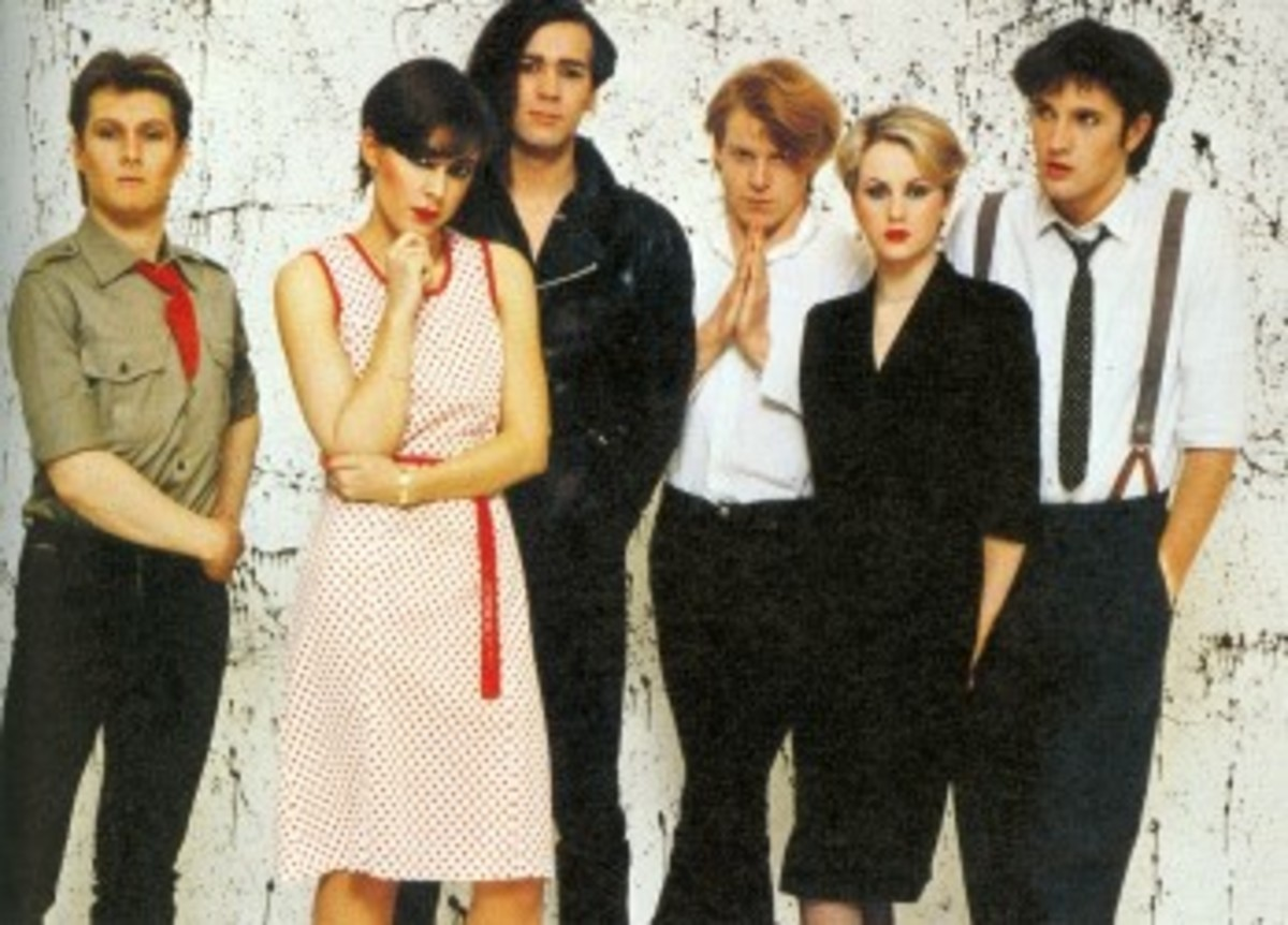 The 'new' Human League - a complete shift in musical output for the band under the leadership of Phil Oakey.