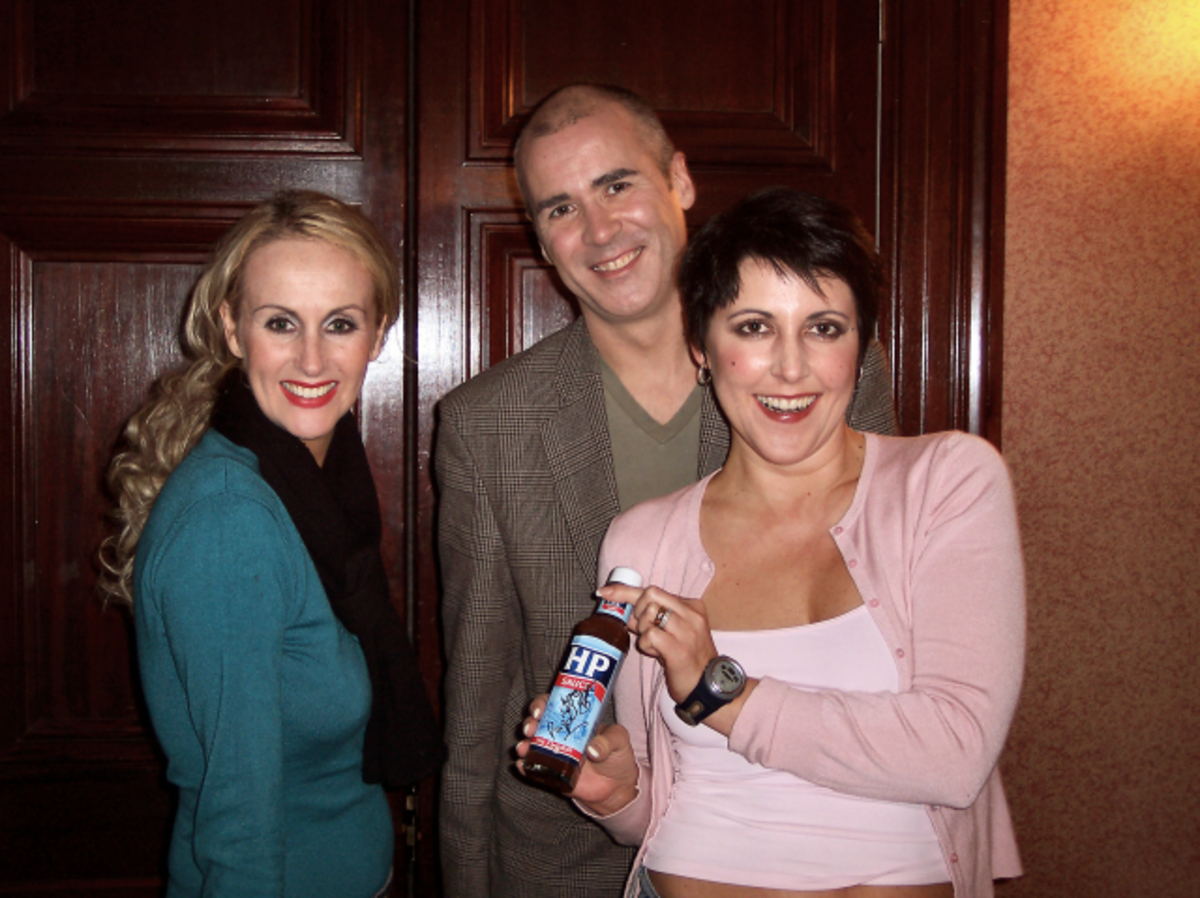 Human League now - Susanna, Phil and Joanne