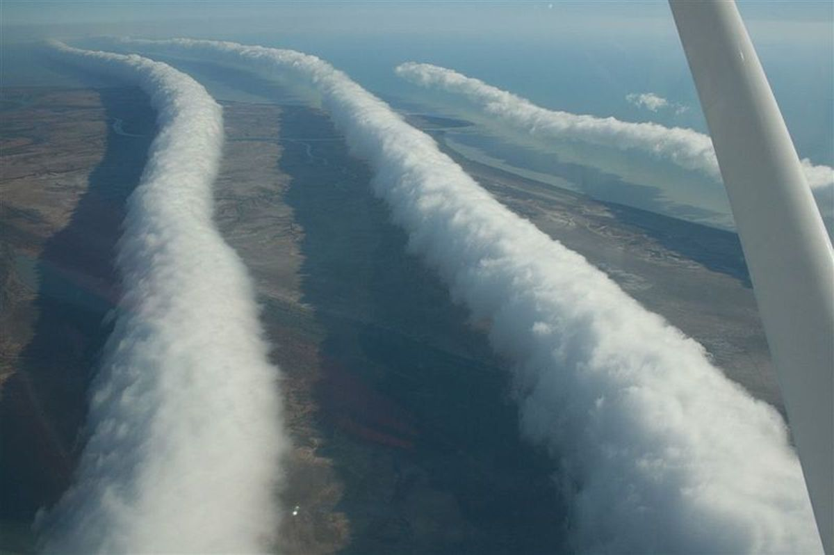 Morning Glory Clouds in Nth Queensland