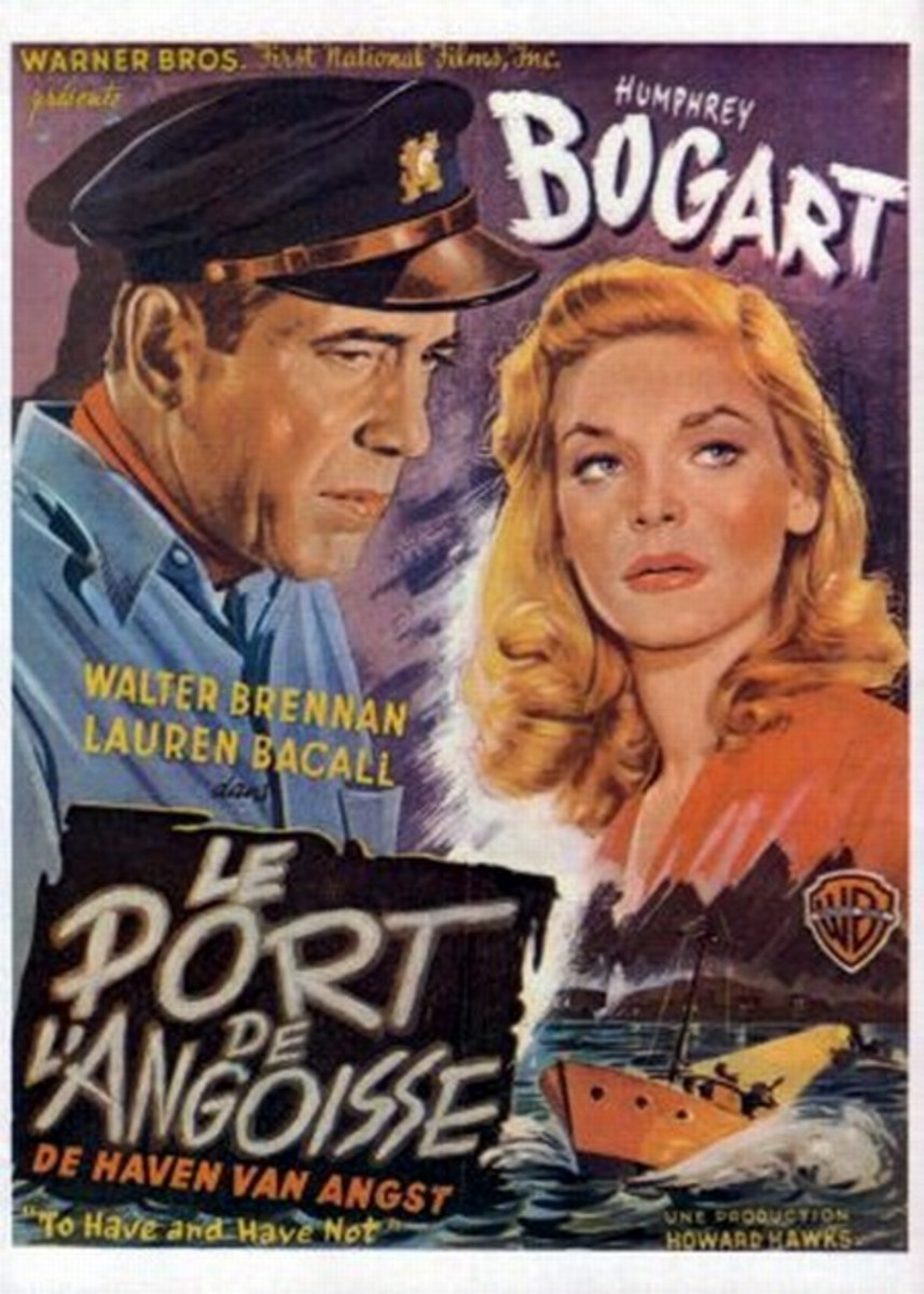 To Have and Have Not (1944) Belgian poster