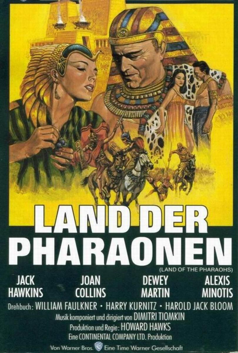 Land of the Pharaohs (1955) German poster