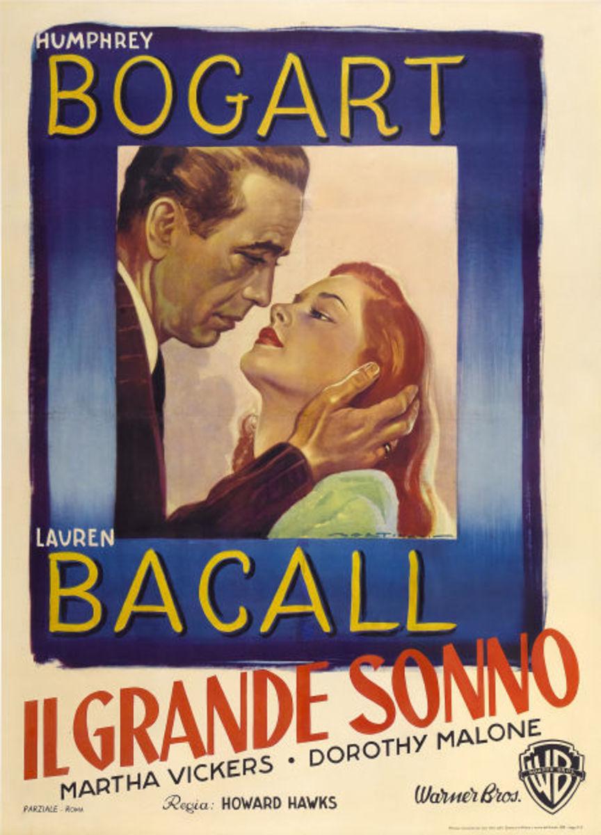 The Big Sleep (1946) Italian poster