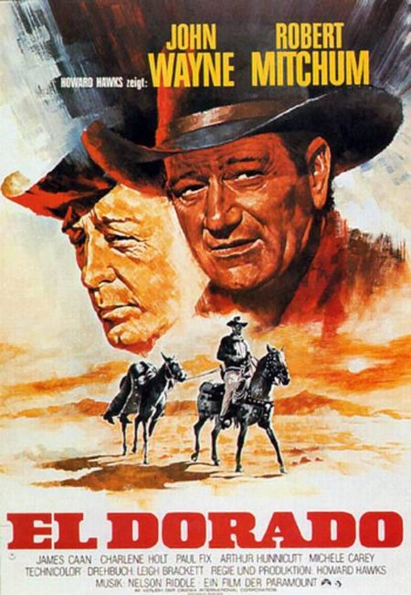 El Dorado (1966) German poster