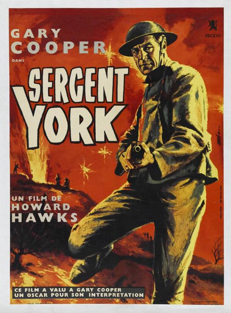 Sergeant York (1941) French poster