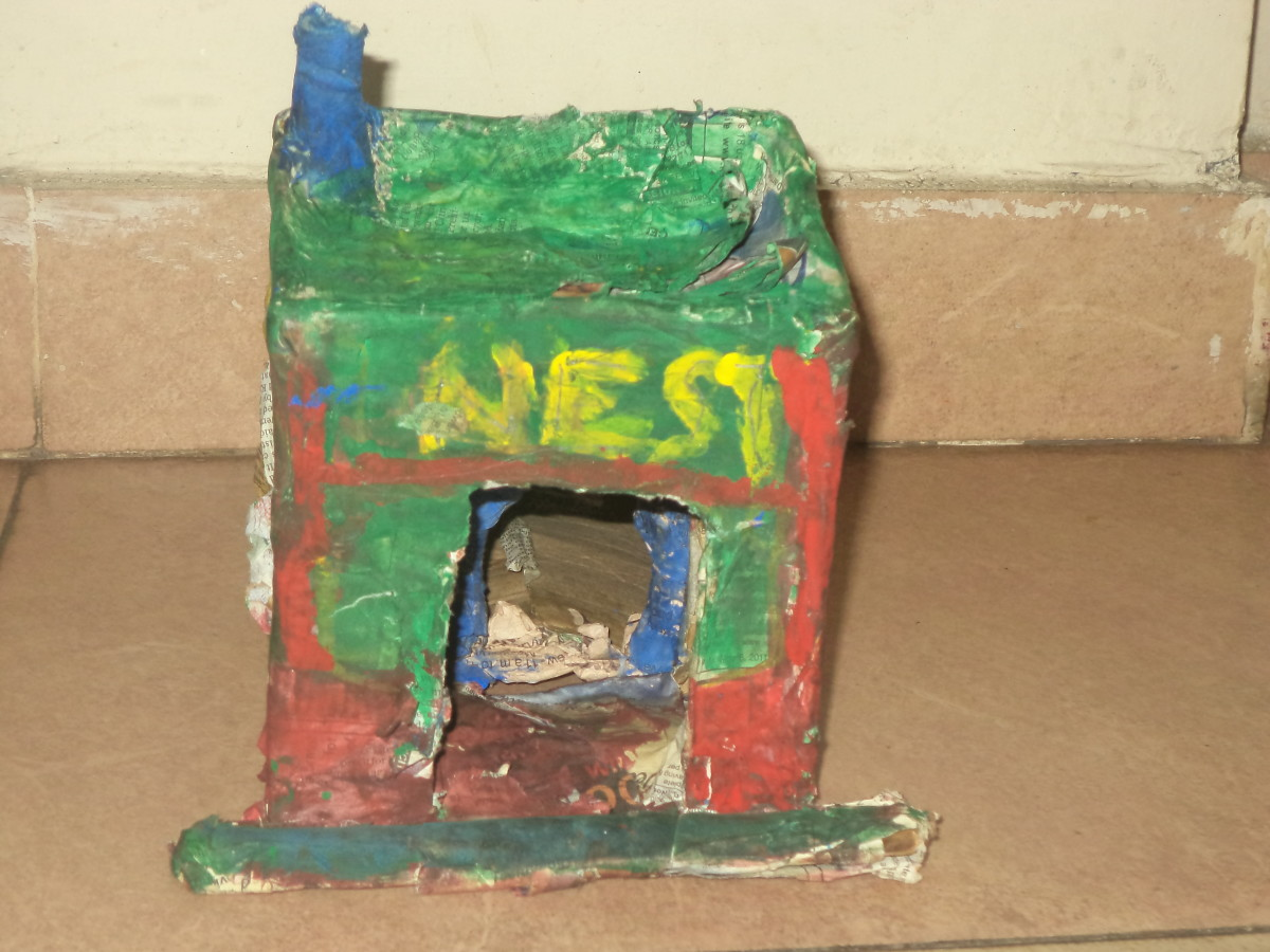 Engaging children in creative activities how to make for Creative items from waste
