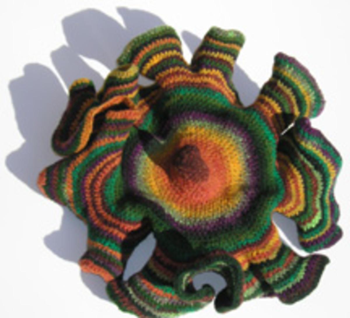 Hyperbolic geometry in crochet!