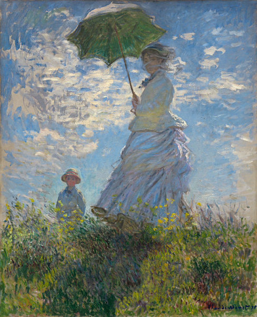 """Woman with a Parasol"""