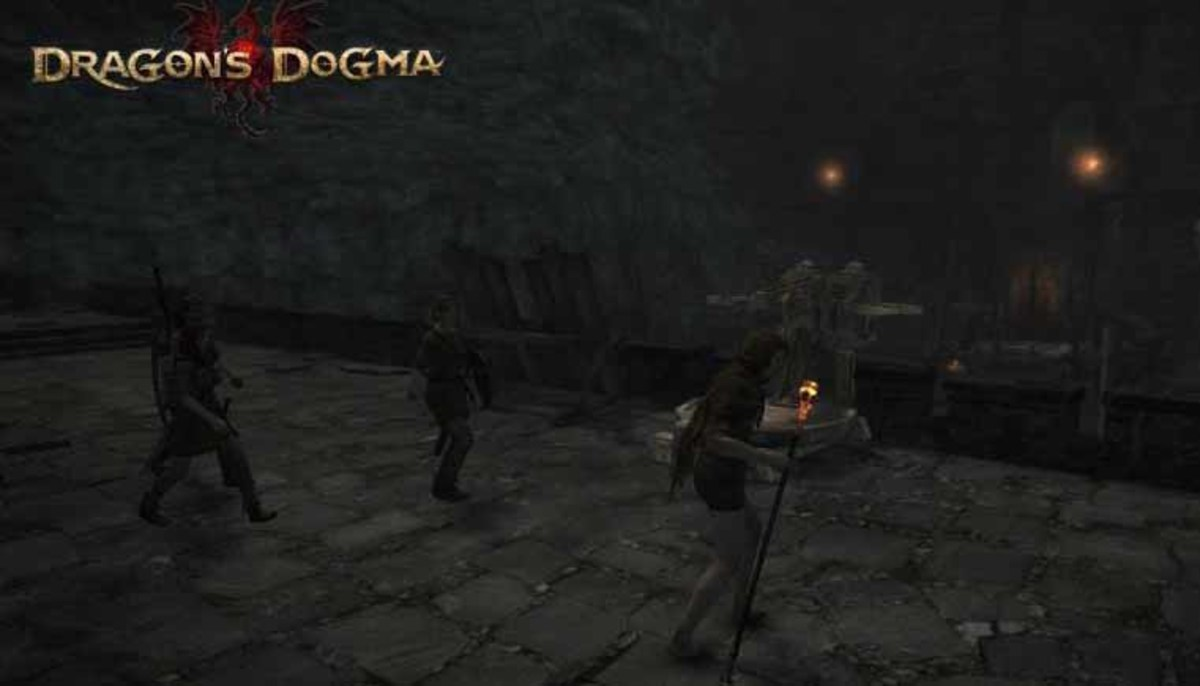 Dragon's Dogma A Fortress Besieged Quest - avoid those annoying fireballs and rout the goblins in the shadow fort