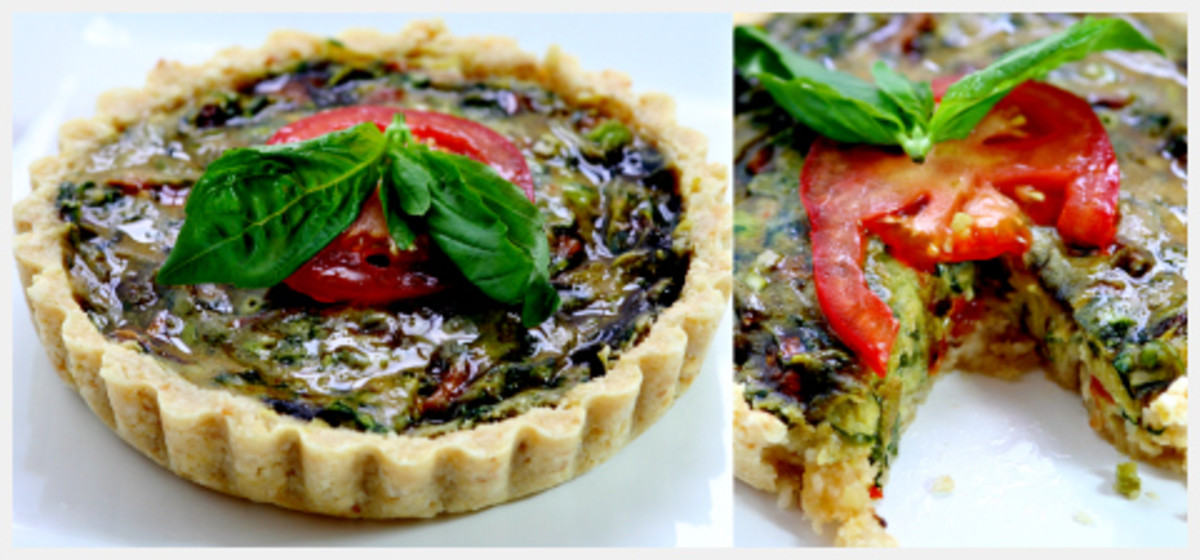 Raw Vegan Spinach Pie Recipe