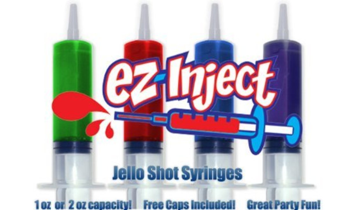 EZ Inject Jello Shot Syringes