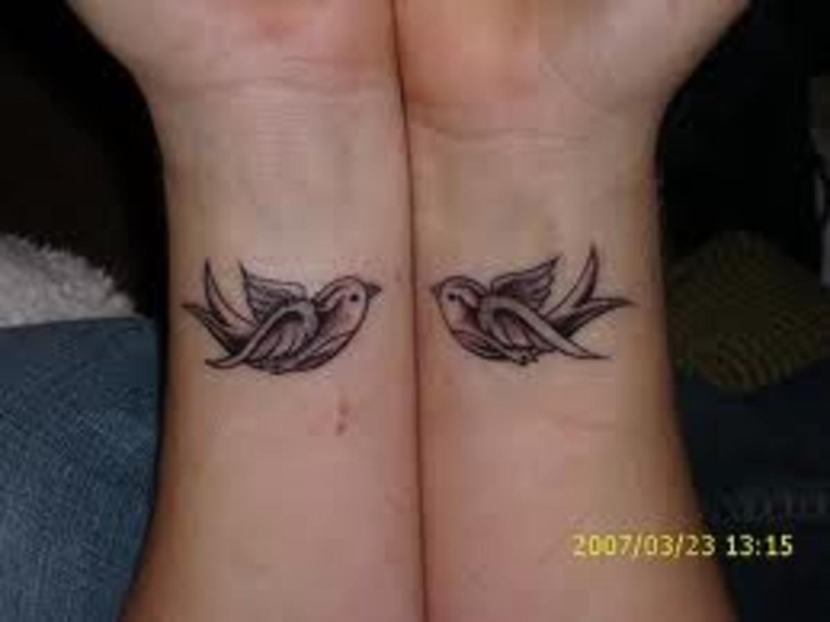 Hummingbird Tattoo On Wrist Pin It