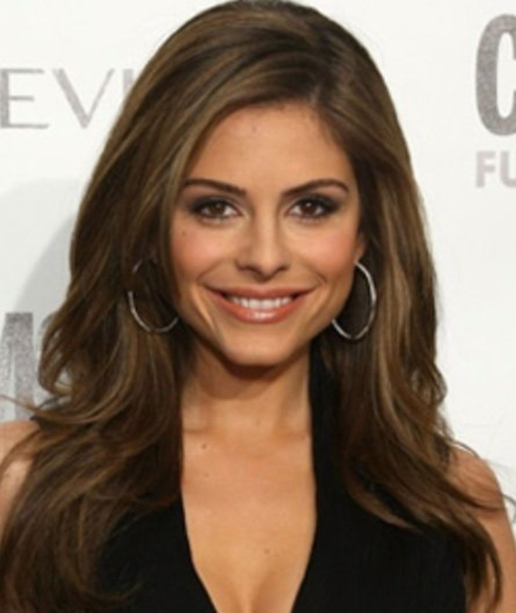 Maria Menounos with Dark Hair