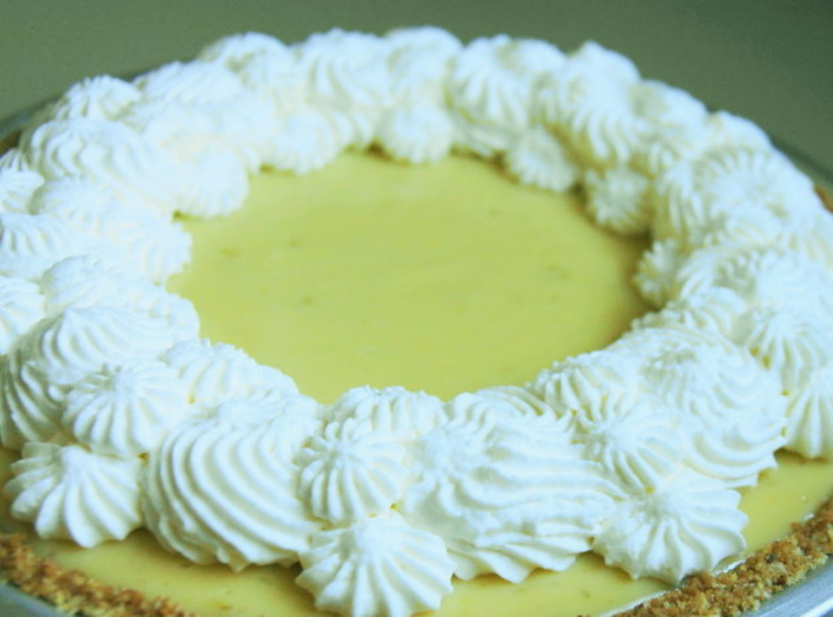 Honeydew Cream Pie