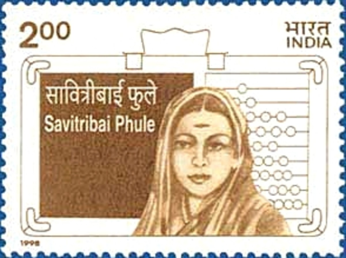 Savitribai Phule, Women Educator of Mid 19th Century in India.
