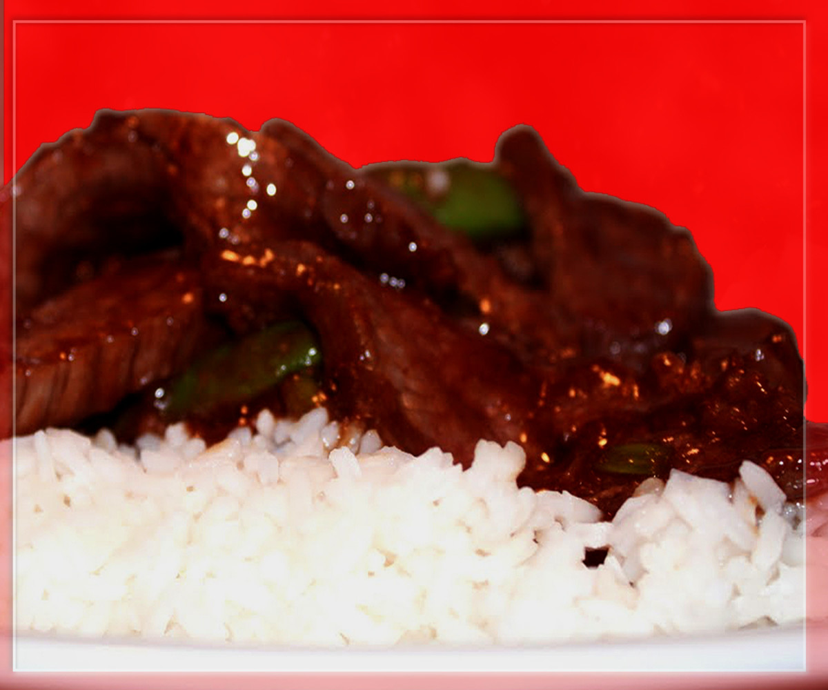 Beef and Steamed Rice