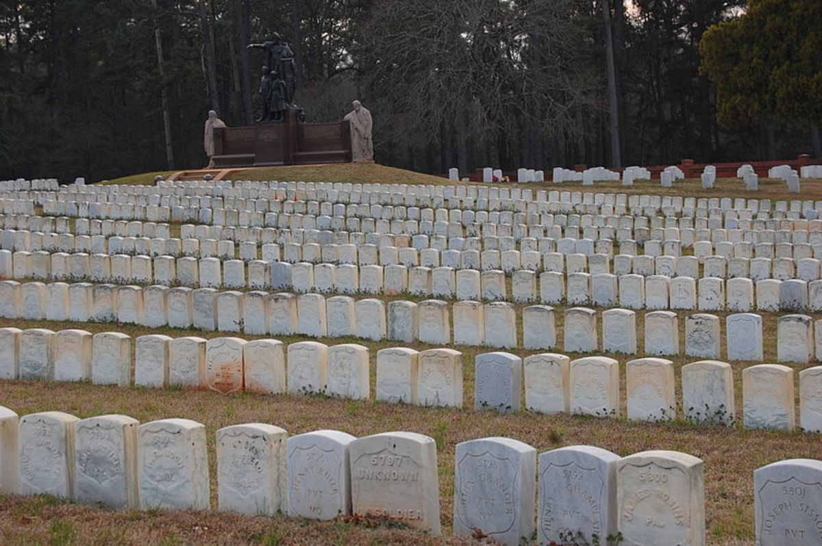 The cemetery contains 13,714 graves and there are 921 of these that are marked as unknown.