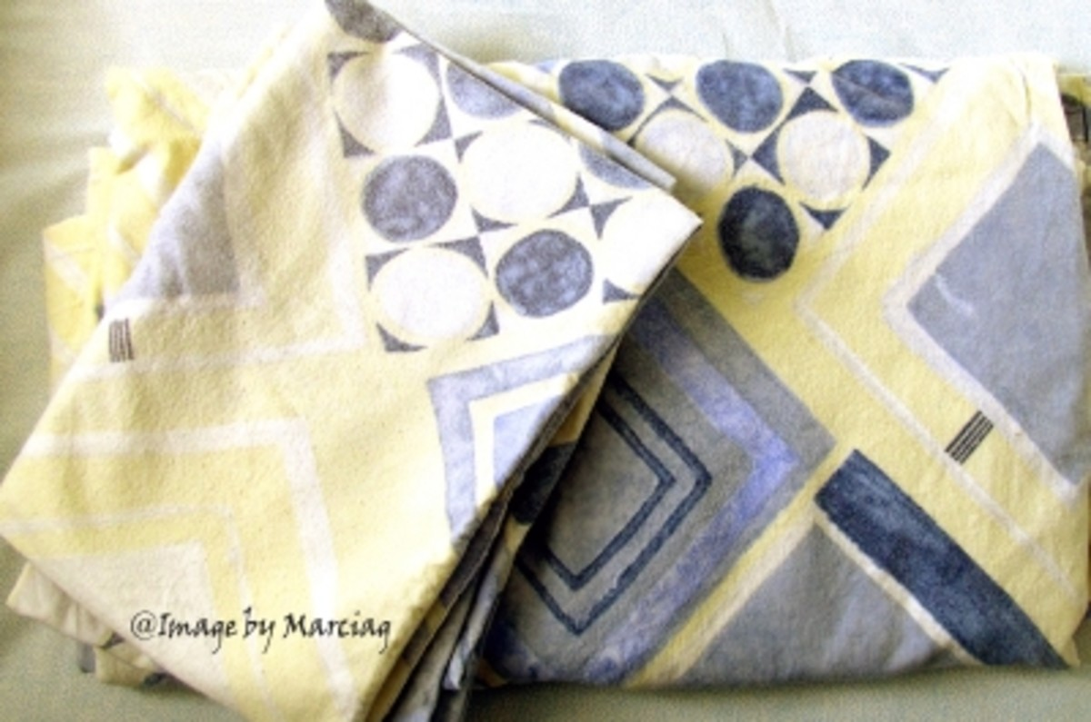 My Own Grey Yellow Bedding Sheets And Pillow Covers