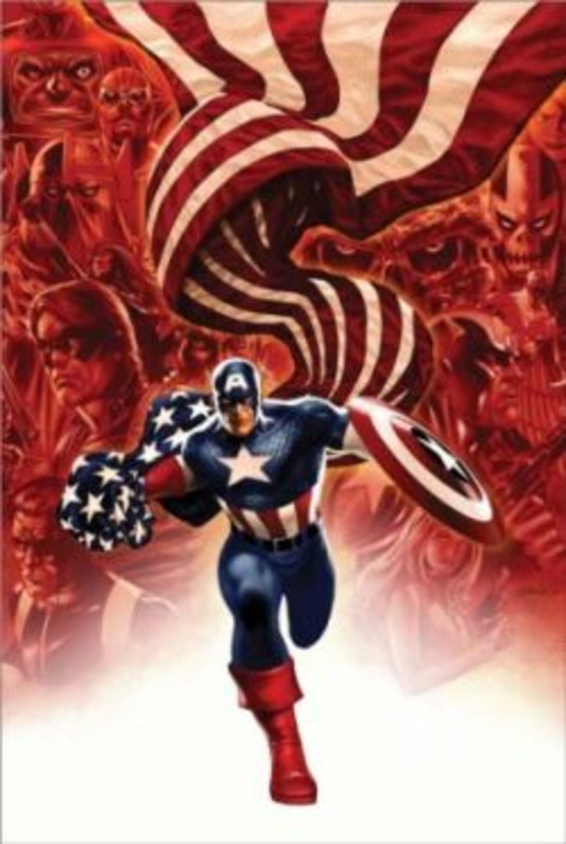 Discontinued Titles from Marvel NOW! (Captain America #19 (2012)
