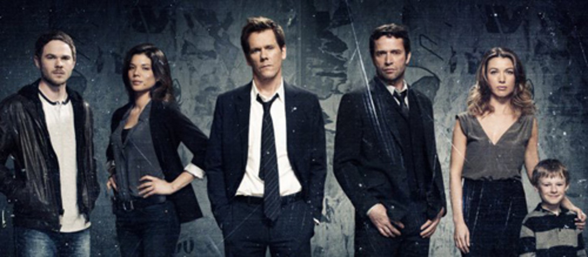 The Following Cast and Characters - Starring Kevin Bacon as Ryan Harding