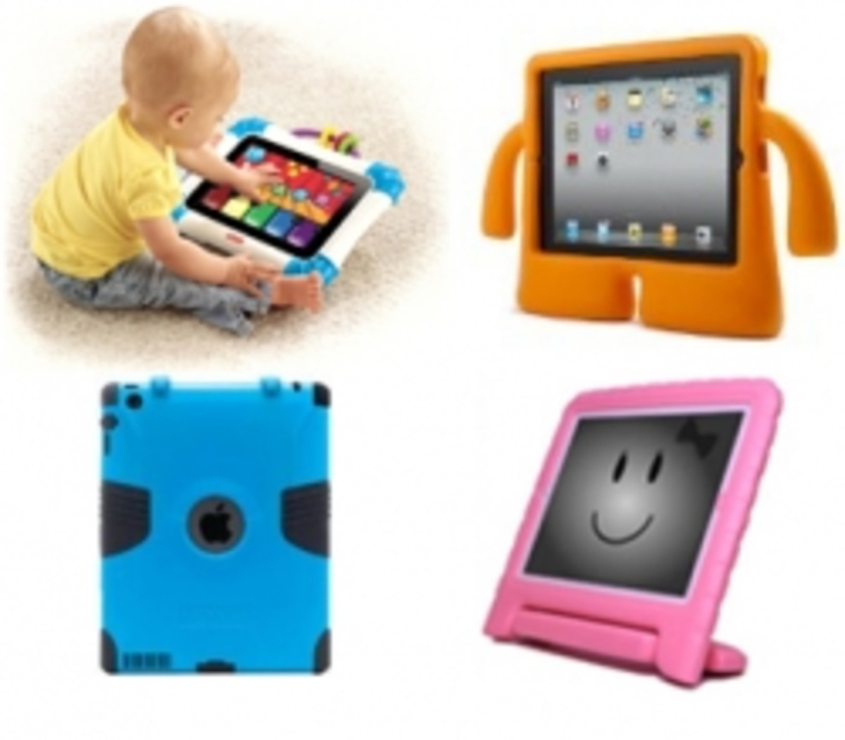 Toddler iPad Cases For Children - iPad Covers For Kids and Babies