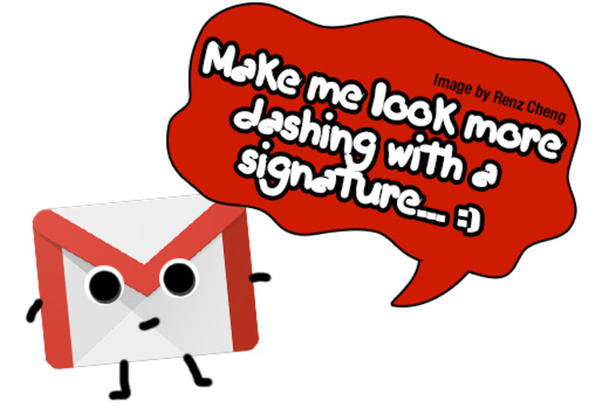 Image Signature for Your Gmail Account