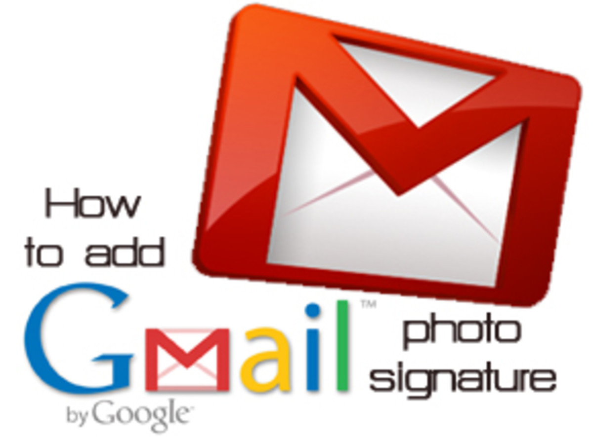 How to Add an Image Signature in Google Mail (Gmail)