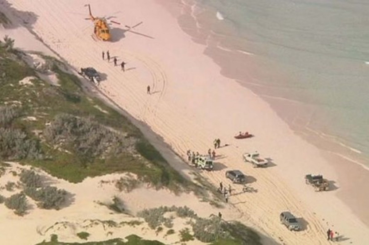 emergency service on scene at Wedge Island, Western Australia