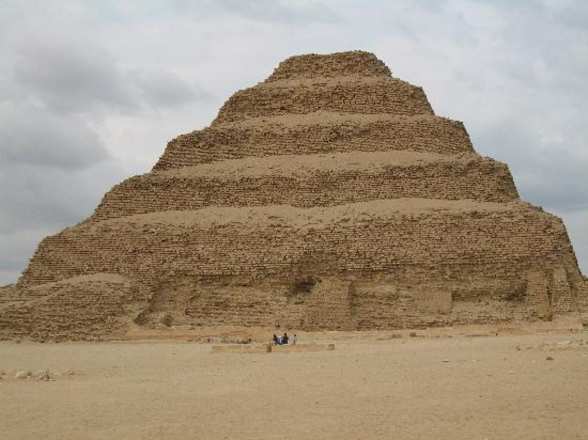 Djoser's step Pyramid at Saqqarra