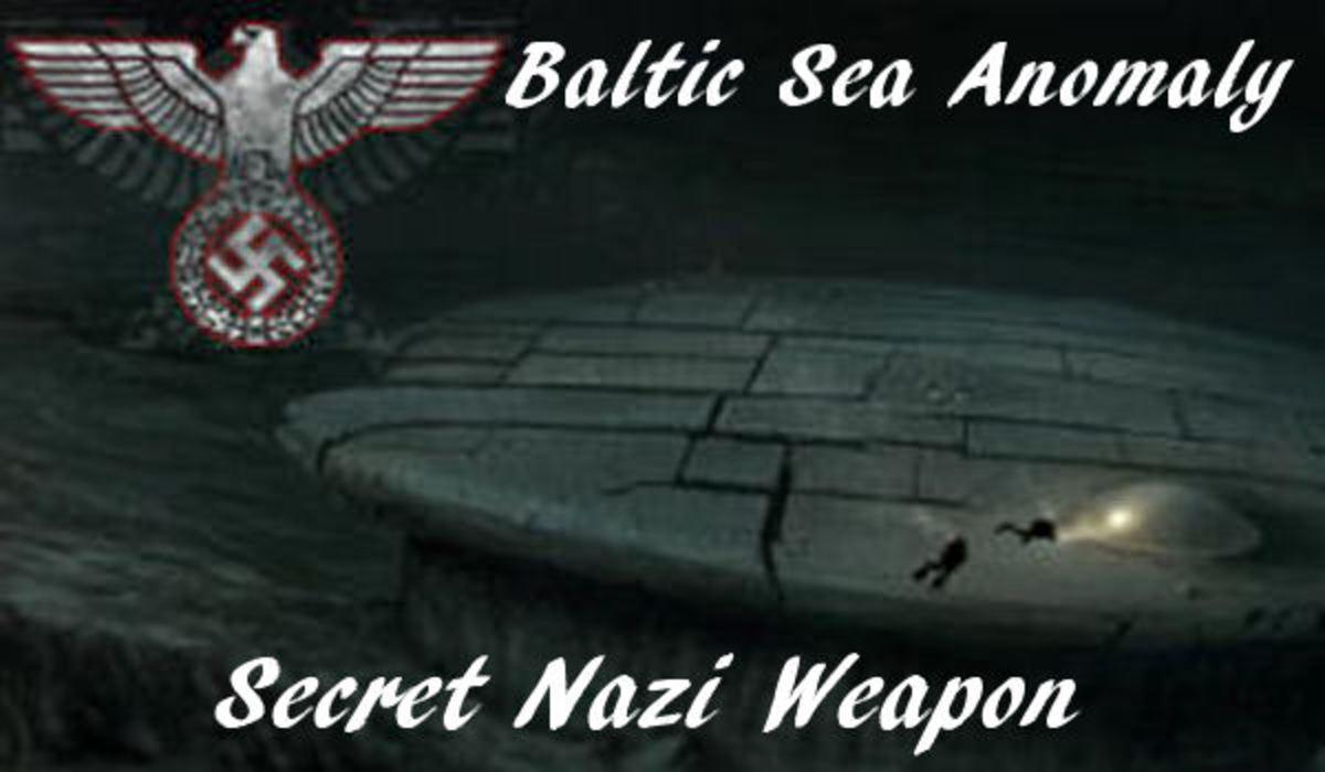 Baltic Sea Anomaly Nazi Secret Weapon