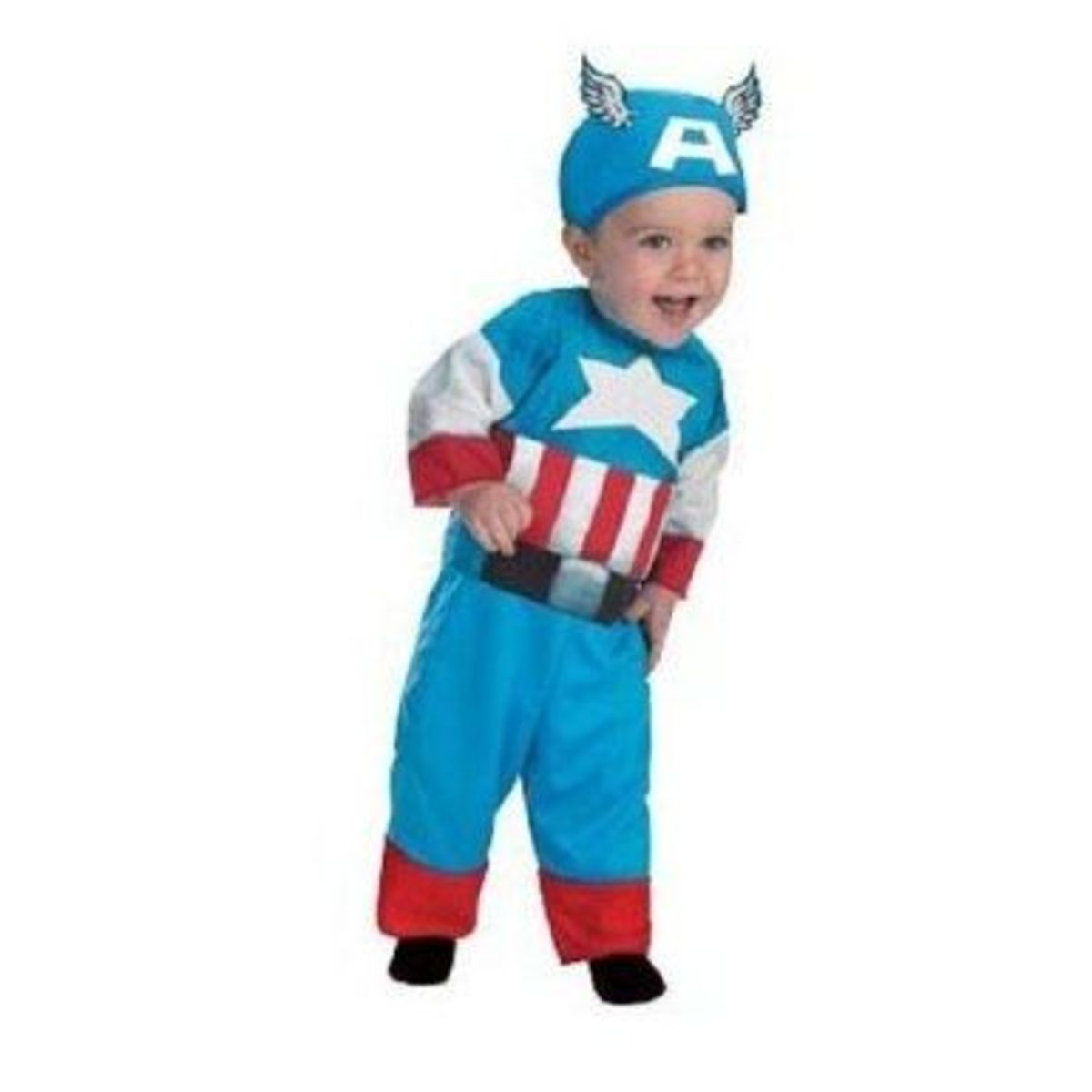 Infant (12-18 Months) Captain America Marvel Costume