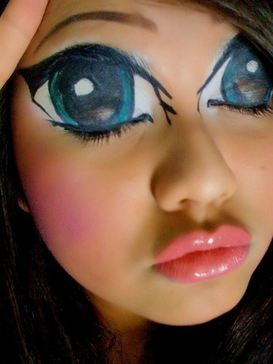Manga Or Anime Makeup Tips And Tutorials