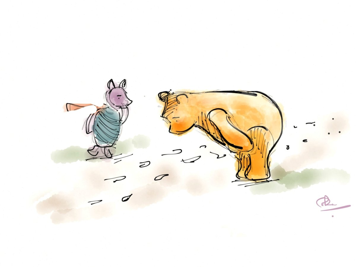 Pooh and Piglet Ponder the Path
