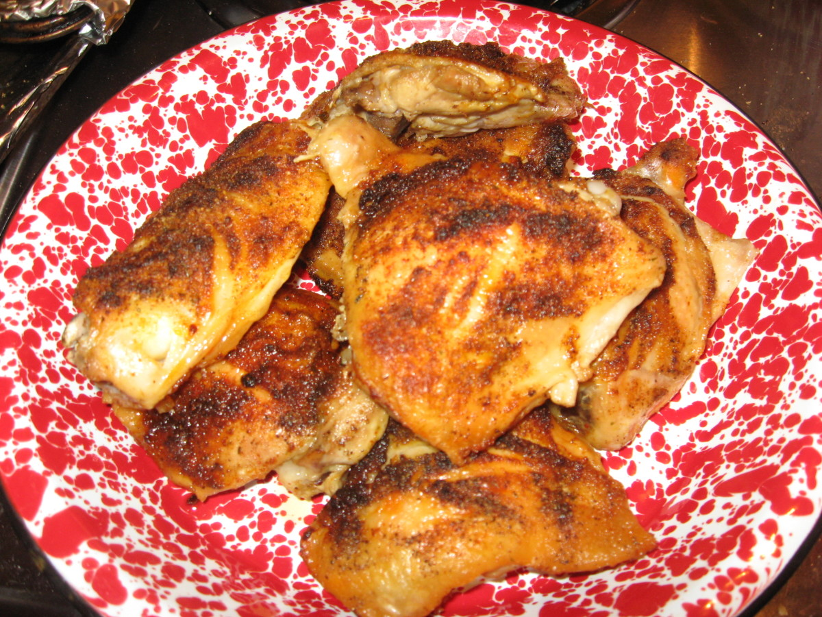 Yummy recipe for baked chicken!