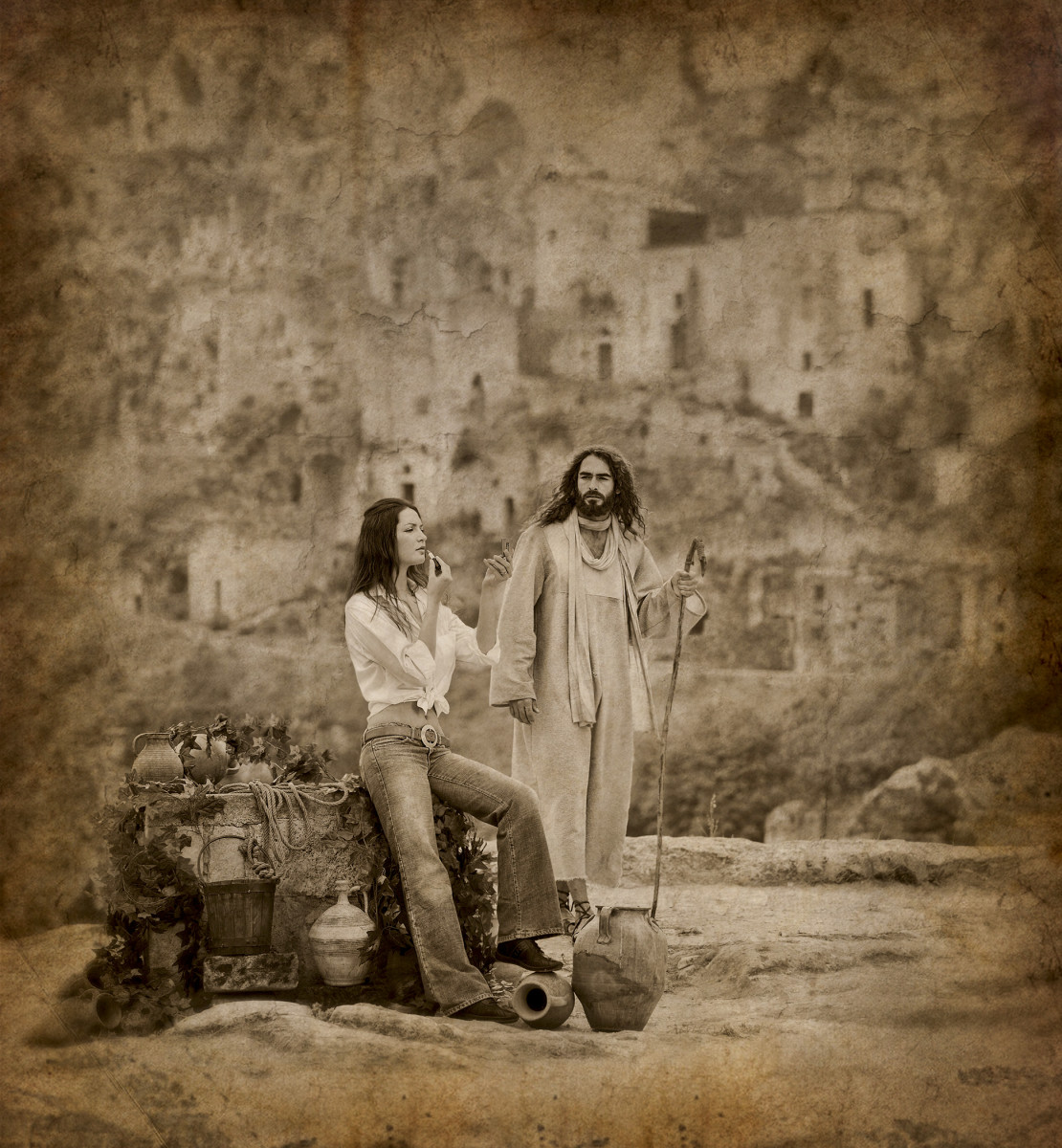 Compassion. There's often more to the story than what first meets the eye. Jesus traveling through the region of Samaria where He encountered a woman alone at the local well