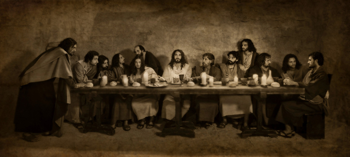 The Last Supper. Lessons on how to be blessed.