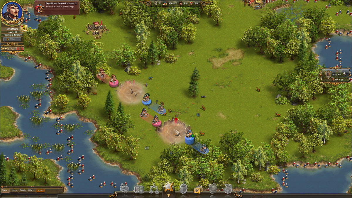 The Settlers Online Gameplay