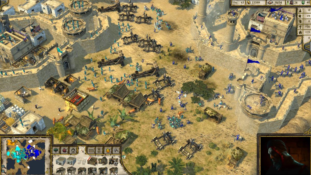 Stronghold Crusader 2 Gameplay