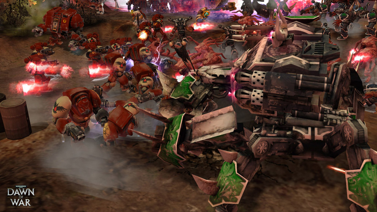 Warhammer 40,000: Dawn of War Gameplay