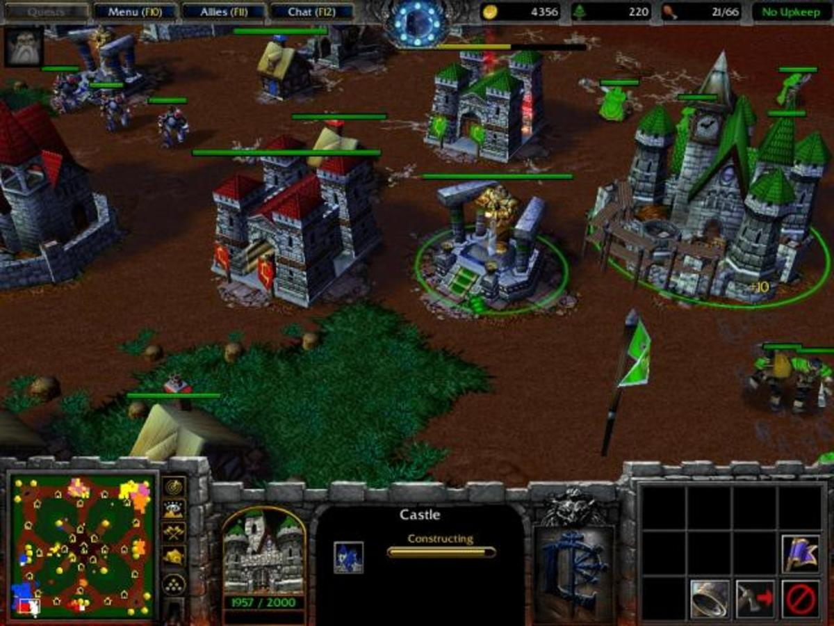 Warcraft 3 Gameplay